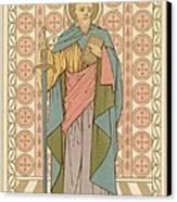 Saint Paul Canvas Print by English School