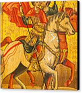 Saints Sergius And Bacchus Canvas Print by Marx Broszio