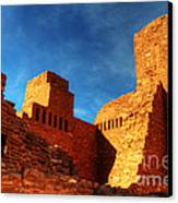 Salinas Pueblo Abo Mission Golden Light Canvas Print by Bob Christopher