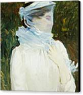 Sally Fairchild Canvas Print by John Singer Sargent