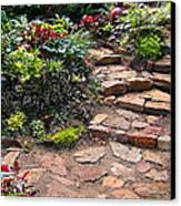 Sally's Garden Canvas Print by Nancy Harrison