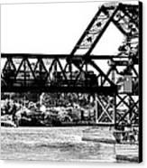 Salmon Bay Bridge Canvas Print by Benjamin Yeager