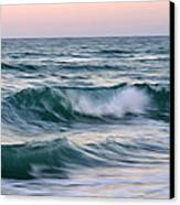 Salt Life Square Canvas Print by Laura Fasulo