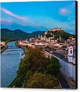 Salzburg 04 Canvas Print by Tom Uhlenberg