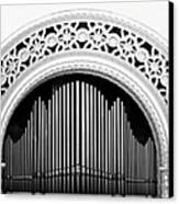 San Diego Spreckels Organ Canvas Print by Christine Till