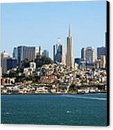 San Francisco Skyline Canvas Print by Kelley King