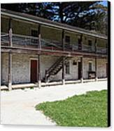 Sanchez Adobe Pacifica California 5d22643 Canvas Print by Wingsdomain Art and Photography