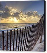 Sand Dunes   Canvas Print by Debra and Dave Vanderlaan