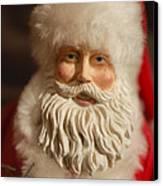 Santa Claus - Antique Ornament - 07 Canvas Print by Jill Reger