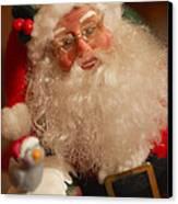 Santa Claus - Antique Ornament - 11 Canvas Print by Jill Reger
