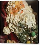 Santa Claus - Antique Ornament - 18 Canvas Print by Jill Reger