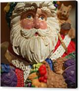 Santa Claus - Antique Ornament - 20 Canvas Print by Jill Reger