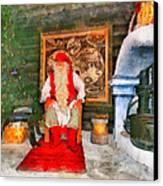 Santa Claus Canvas Print by George Rossidis