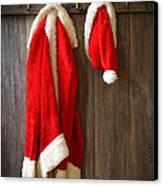 Santa's Coat Canvas Print by Amanda And Christopher Elwell