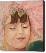 Sassy In Tulle Canvas Print by Marna Edwards Flavell
