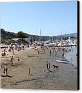 Sausalito Beach Sausalito California 5d22696 Canvas Print by Wingsdomain Art and Photography
