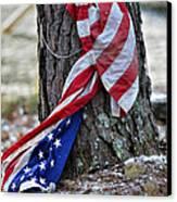 Save The Flag Canvas Print by Susan Leggett