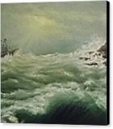 Saving Light Canvas Print by Svetla Dimitrova