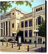 Schermerhorn Symphony Center Canvas Print by Janet King