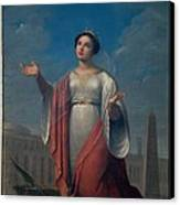 Schiavoni Natale, St Catherine, 1828 Canvas Print by Everett