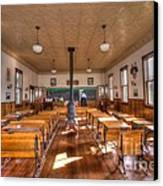 Schools Out For Summer   Canvas Print by L Wright