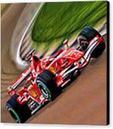 Schumacher Bend Canvas Print by Blake Richards