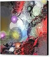 Sci-fi Canvas Print by Francoise Dugourd-Caput