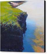 Scorton's Egde Canvas Print by Ed Chesnovitch