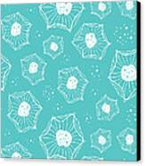 Sea Flower Canvas Print by Susan Claire