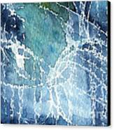 Sea Spray Canvas Print by Linda Woods