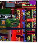 Search For The Straying Son 14d Canvas Print by David Baruch Wolk