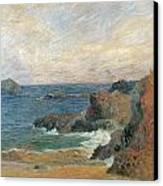 Seascape Canvas Print by Paul Guaguin