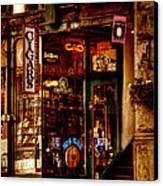 Seattle Cigar Shop Canvas Print by David Patterson