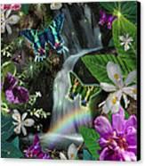 Secret Butterfly Canvas Print by Alixandra Mullins