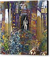 Secret Garden Canvas Print by Ursula Freer