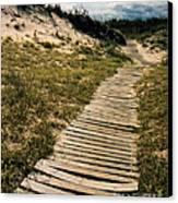 Secret Path Canvas Print by Gerlinde Keating - Galleria GK Keating Associates Inc