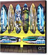 Sector Nine Skateboards Canvas Print by Cheryl Young