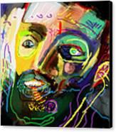 Self Development 11 Canvas Print by David Baruch Wolk