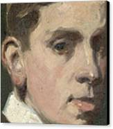 Self Portrait Canvas Print by Francis Campbell Boileau Cadell