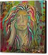 Self Portrait Canvas Print by Gina Ahrens