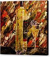 Sensual Nights Named Canvas Print by Mark Moore