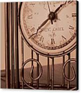 Sepia Time Canvas Print by Guy Ricketts