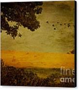 September Canvas Print by Lois Bryan