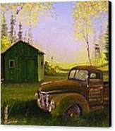 Serenity One O One Canvas Print by Whitey Thompson