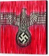 Seven Deadly Sins - Pride Canvas Print by Lynet McDonald