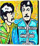 Sgt. Pepper's Lonely Hearts Club Canvas Print by Tara Richelle