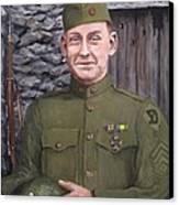 Sgt Sam Avery Canvas Print by Jack Skinner