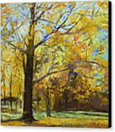 Shades Of Autumn Canvas Print by Michael Creese