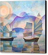 Shades Of Tranquility Canvas Print by Tracey Harrington-Simpson