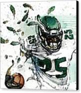 Shady Mccoy Canvas Print by Michael  Pattison